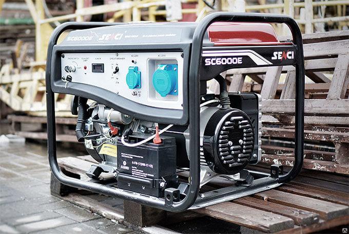 Бензиновый генератор SC6000E