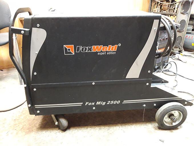 Сдача в ремонт Foxweld Foxmig 2500
