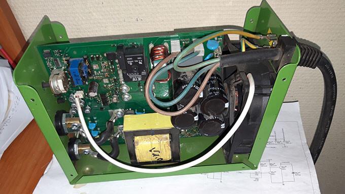 Разбор GYS Inverter 6000