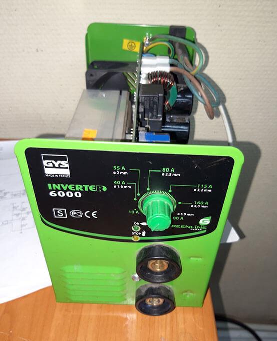 Ремонт GYS Inverter 6000