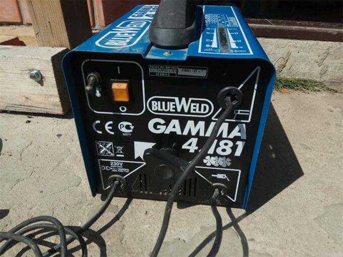 Сдача в ремонт Blueweld GAMMA