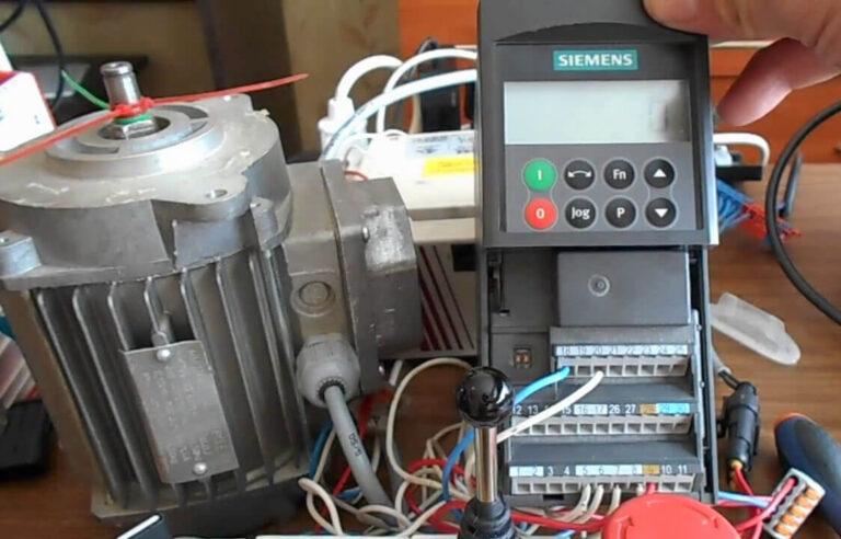 Диагностика частотника Siemens