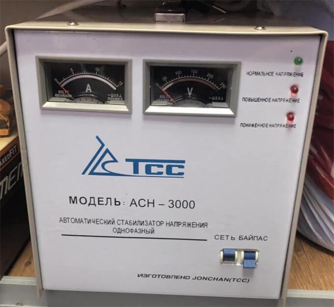 Стабилизатор ТСС АСН-3000