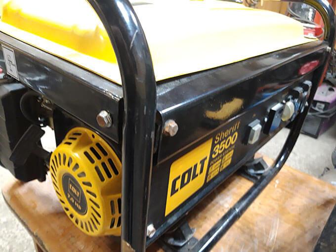 Бензиновый генератор Colt Sheriff 3500