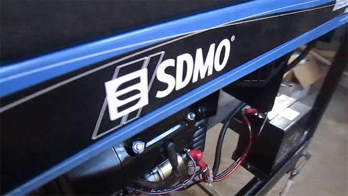 Бензогенератор SDMO