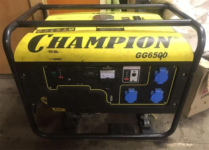Диагностика Champion GG6500