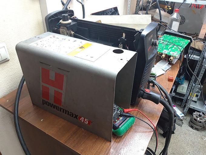 Диагностика Hypertherm PowerMax 45