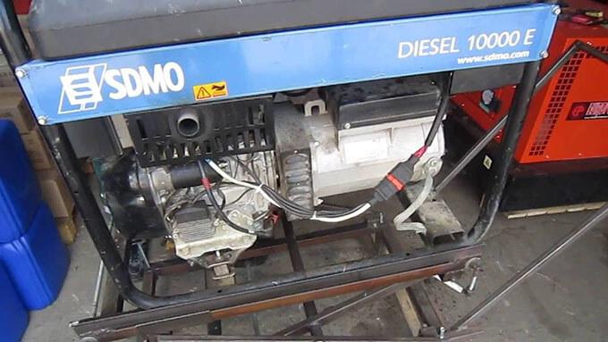 Дизель генератор SDMO 10000 E
