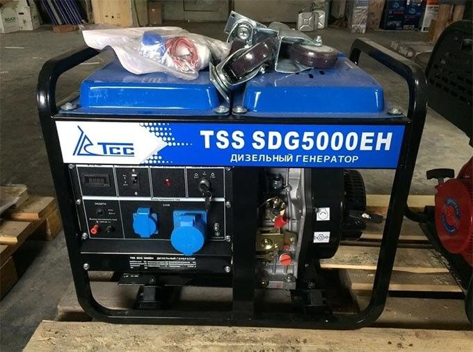 Дизель-генератор ТСС SDG5000EH