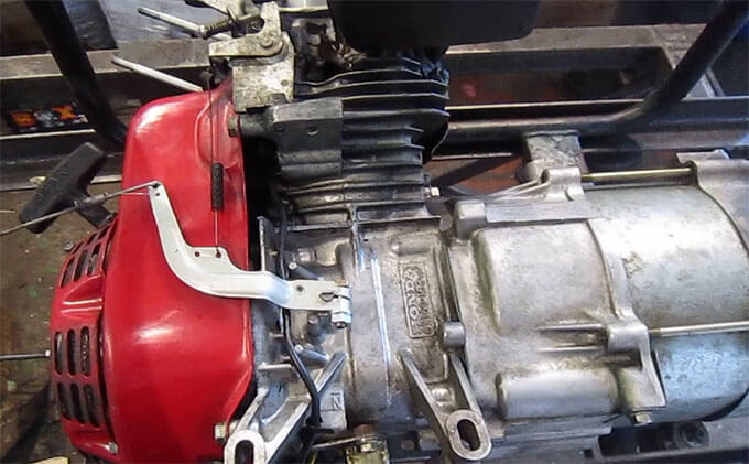 Двигатель бензогенератора Honda