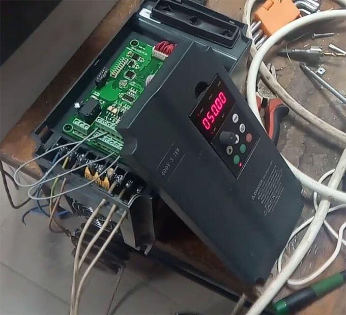 Ремонт преобразователя частоты Tecorp