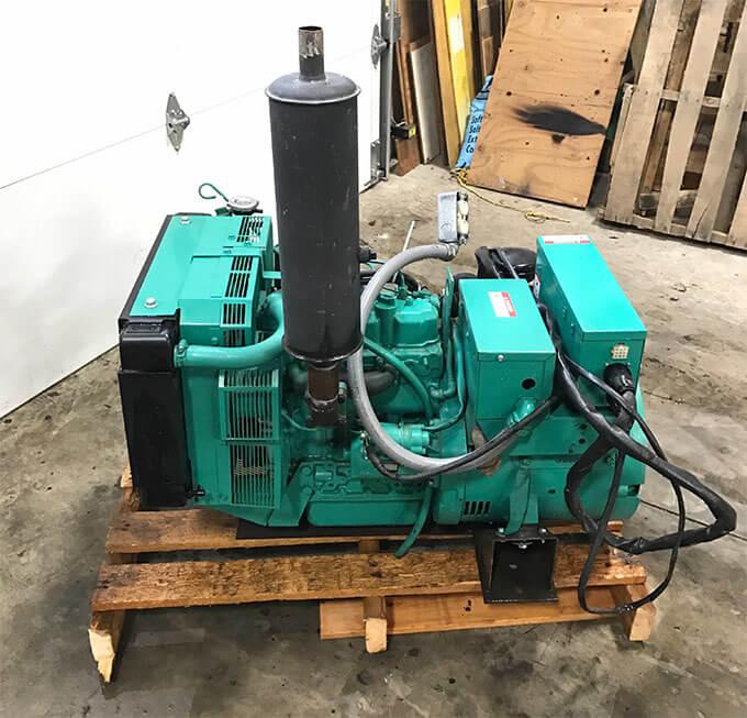 Сдача дизель генератора Cummins в ремонт