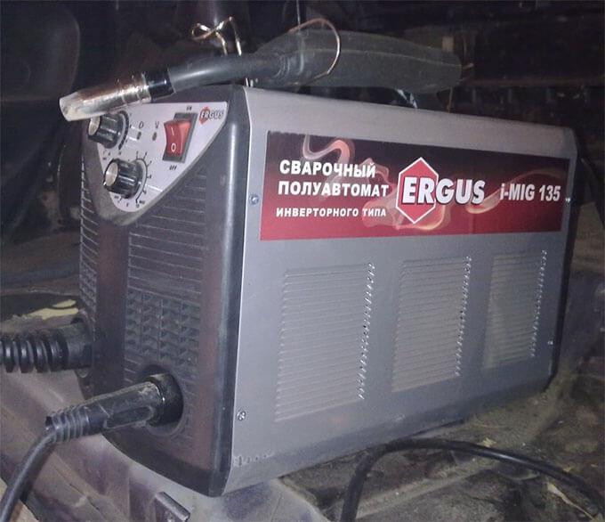Сварочный полуавтомат Ergus i-Mig 135