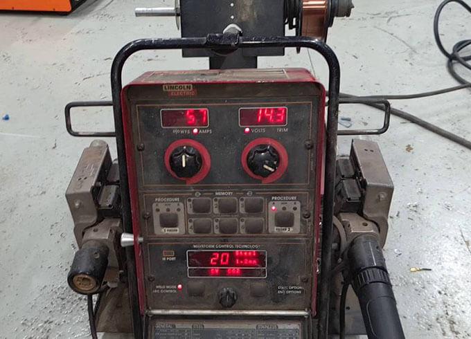 Тестирование Lincoln Electric