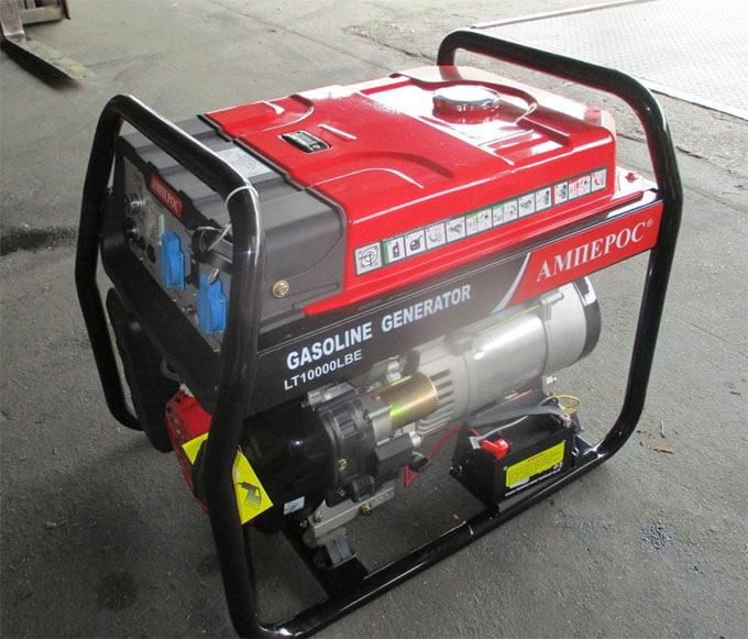 Бензиновый генератор Амперос LT10000LBE