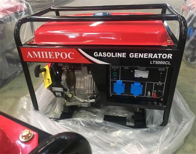 Бензиновый генератор Амперос LT5000CL
