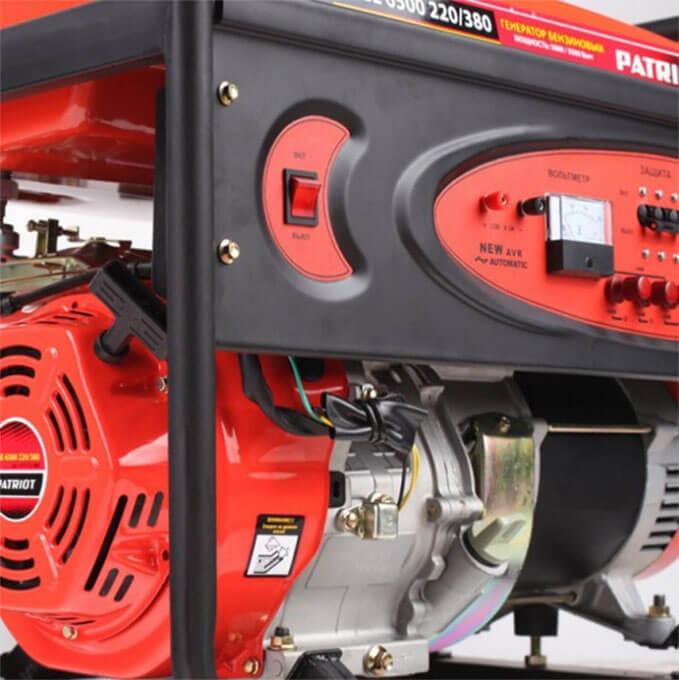 Двигатель генератора Patriot
