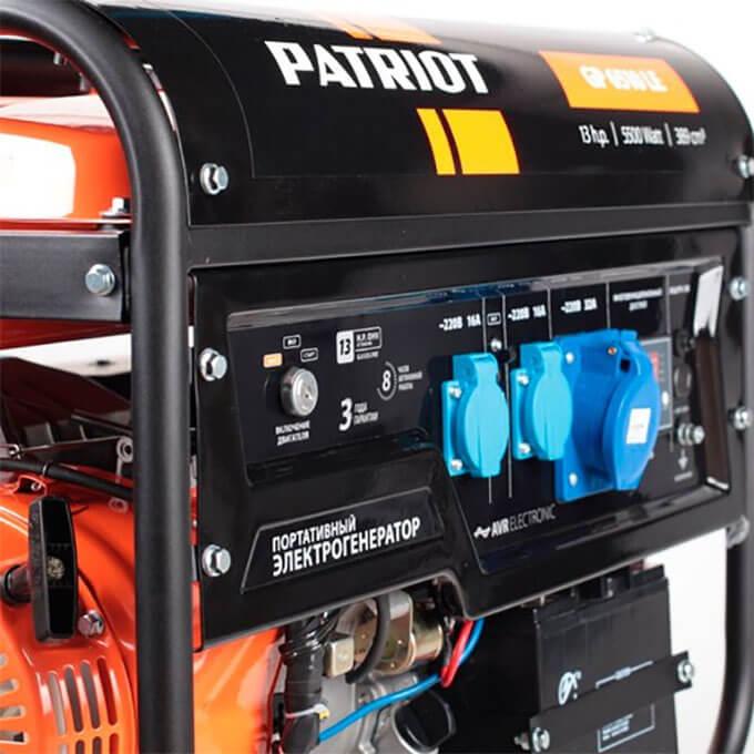 Портативный электрогенератор Patriot