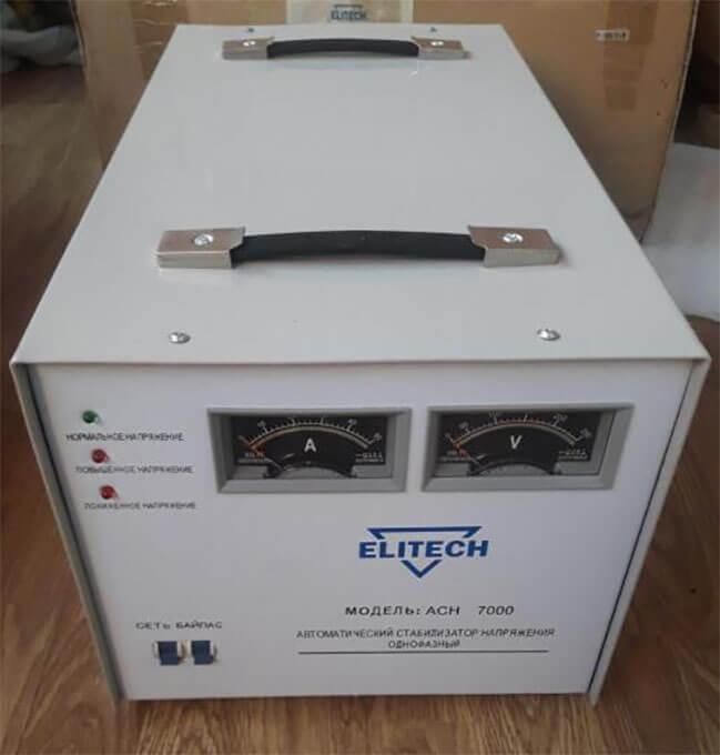 Стабилизатор Elitech АСН 7000