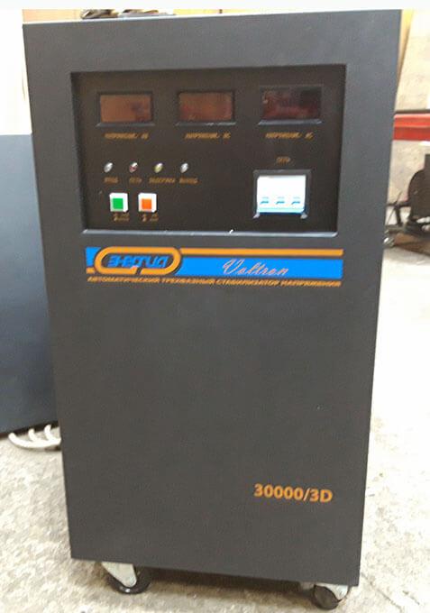Ремонт стабилизатора Voltron 30000
