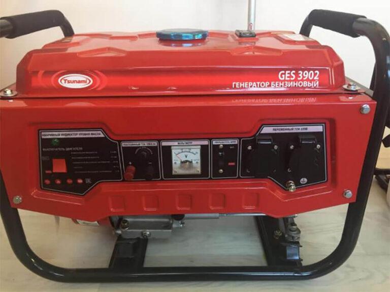 Бензогенератор Tsunami GES 3902