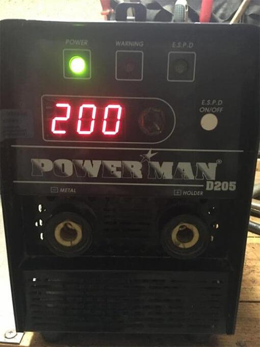 Диагностика Powerman D205