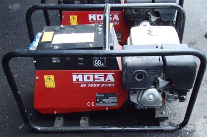 Бензогенератор Mosa GE7000 BS/GS