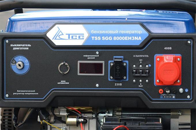 Лицевая панель ТСС SGG 8000 EH3NA