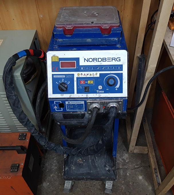 Споттер Nordberg в ремонте