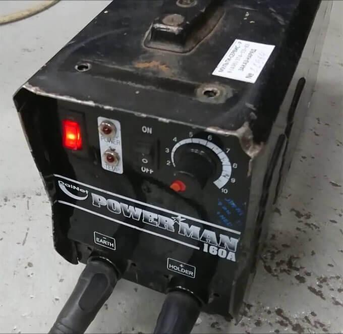 Сварочный аппарат Powerman 160A