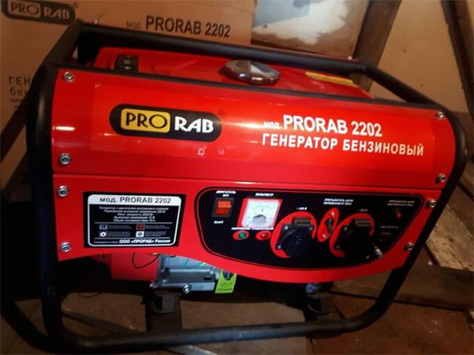 ТО для Prorab 2202
