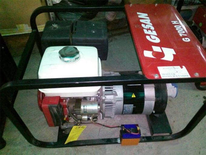 Бензиновый генератор Gesan G7000H