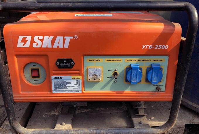Бензиновый генератор Skat УГБ-2500