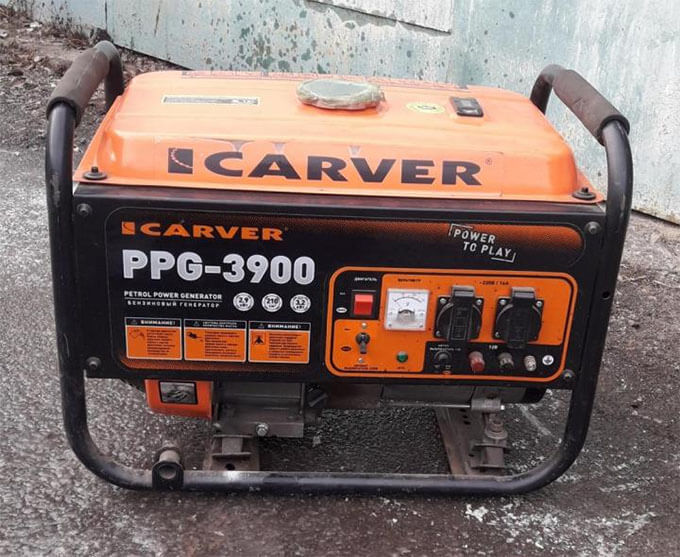 Бензогенератор Carver PPG3900