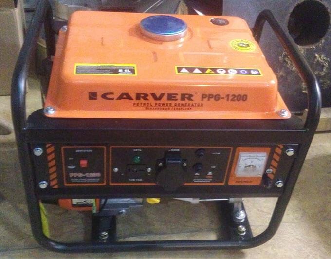 Тестирование генератора Carver PPG-1200